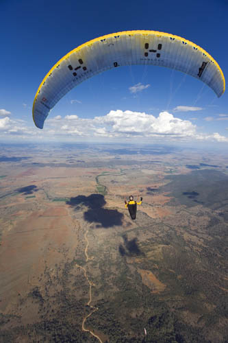 Paragliding at Mt Borah Manilla