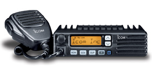 ICOM IC-400PRO UHF CB radio, in car, programmable, 25watt output